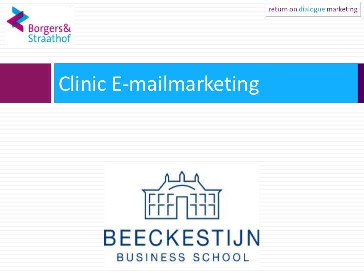 Clinic E-mailmarketing