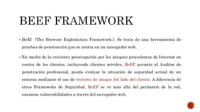 Beef framework 2016 Slide 2