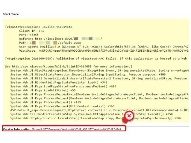 OWASP #5 Security Misconfiguration: Hardening your ASP.NET Application