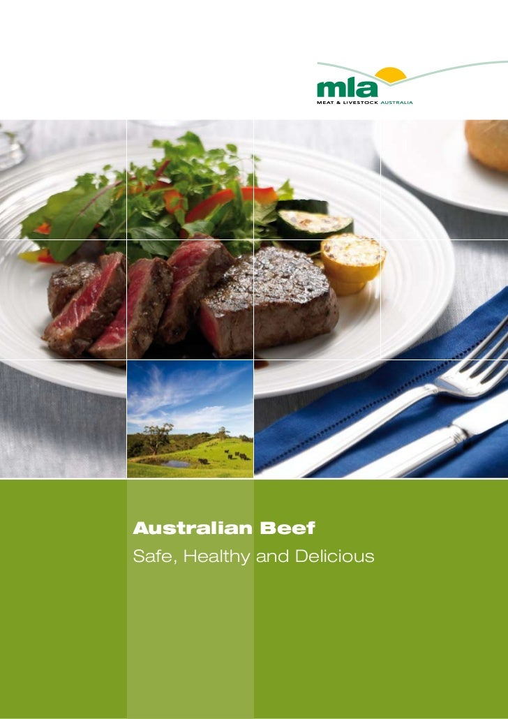 Australian BeefSafe, Healthy and Delicious