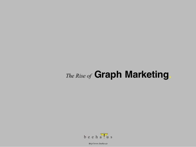 The Rise of  Graph Marketing.  http://www.beeha.us