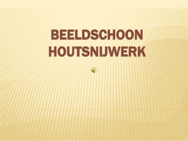 Beeldsnijwerken afkomstig uit Nederlands – Indië