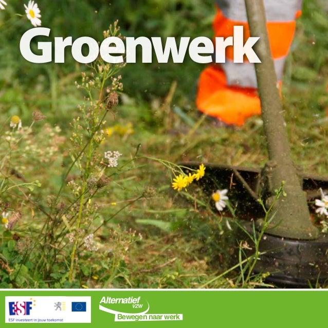 Groenwerk Alternatief Bewegen naar werk