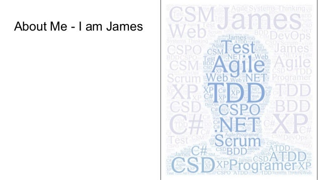 About Me - I am James