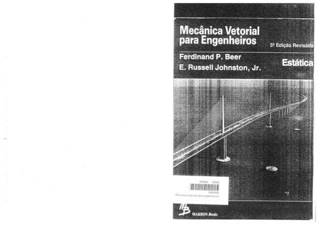Para pdf livro mecanica vetorial engenheiros estatica