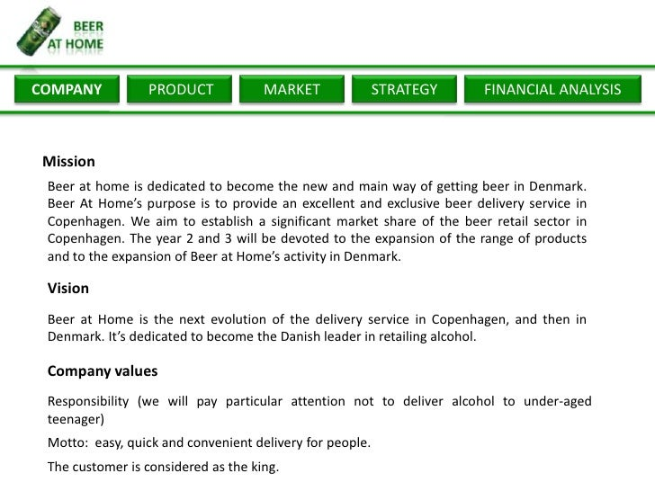 liquor delivery service licence