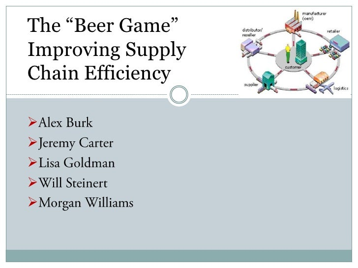 beer game supply chain solution