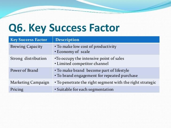 key success factors panasonic
