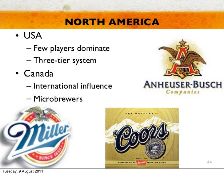 anheuser bush essay Anheuser busch is involved in marketing their products around the world to narrow this broad topic only the segments in the united states will be assessed there are four main segments of beer drinkers, and anheuser busch is heavily involved in all four markets the first and largest market is the.