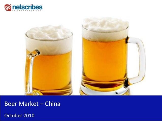 Beer Market – China October 2010