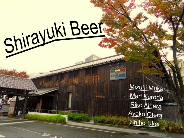 Shirayuki Beer Information Contact Information  3-4-15, Chuo, Itami, Hyogo 664-0851  Number of Employees: 5person (KONISHI...