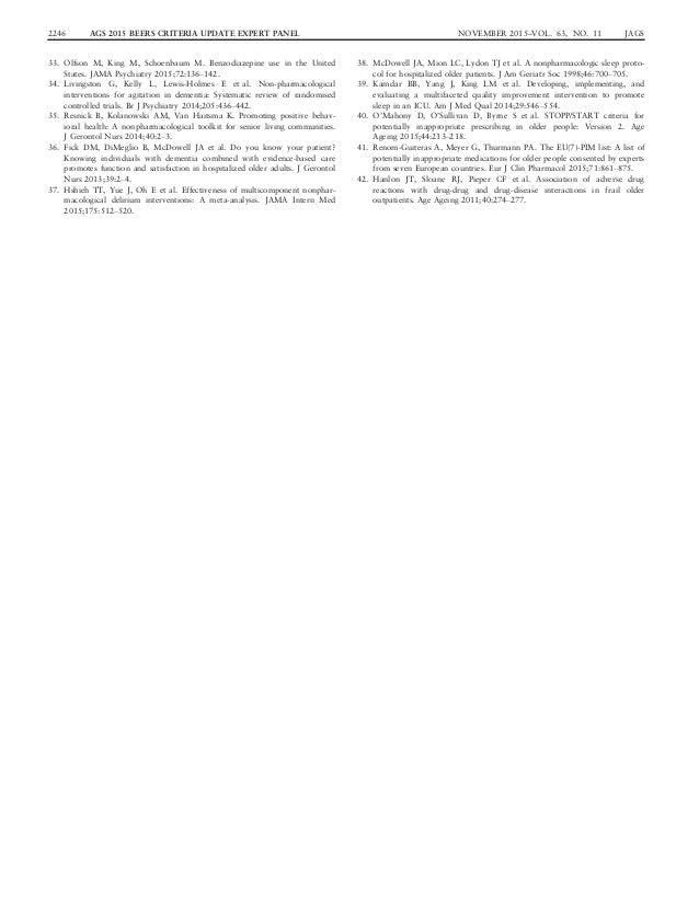 ags beers criteria 2015 pdf