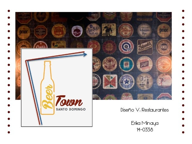 Diseño V: Restaurantes Erika Minaya 14-0338