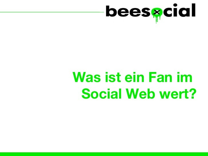 Was ist ein Fan im  Social Web wert?