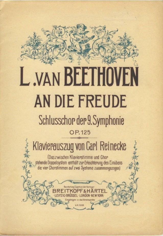 Beethoven 9.symphonie breitkopf_reinecke