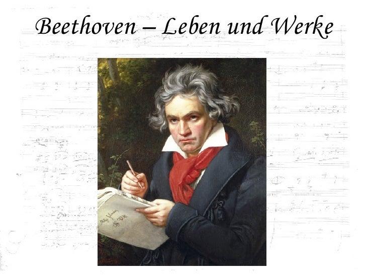 Beethoven – Leben und Werke