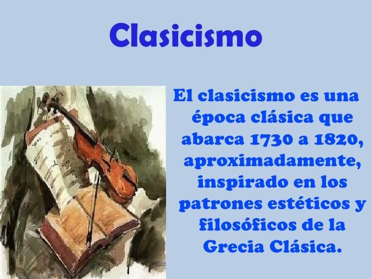 Beethoven y el clasicismo s - Epoca del clasicismo ...