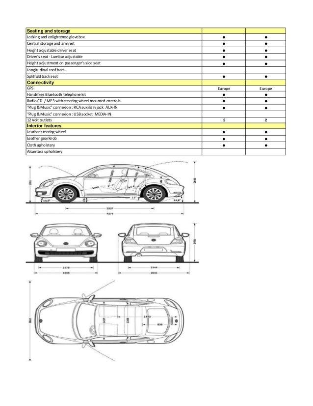 Short Term Car Lease in Spain - Beetle