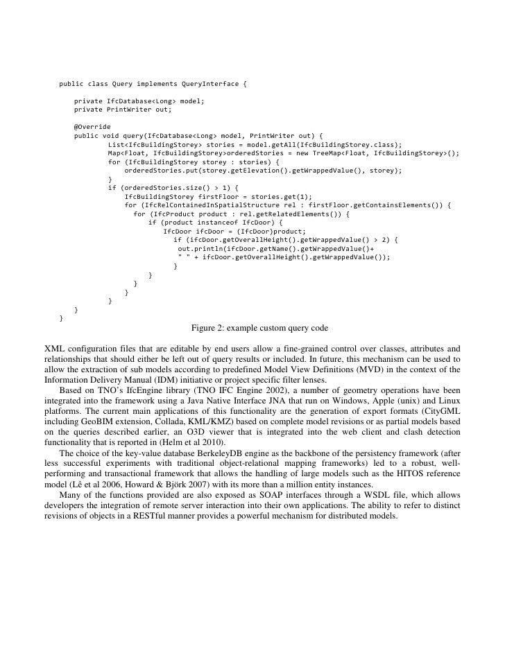 BIMSERVER.ORG – AN OPEN SOURCE IFC MODEL SERVER, 2010