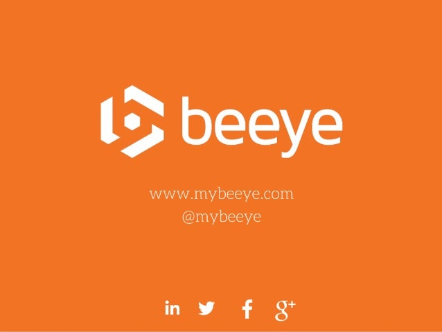 Plan 1. Contenud'unpitchdeck 2. ÉvolutiondeBeeye 3. Quelquesconseils www.mybeeye.com|@mybeeye