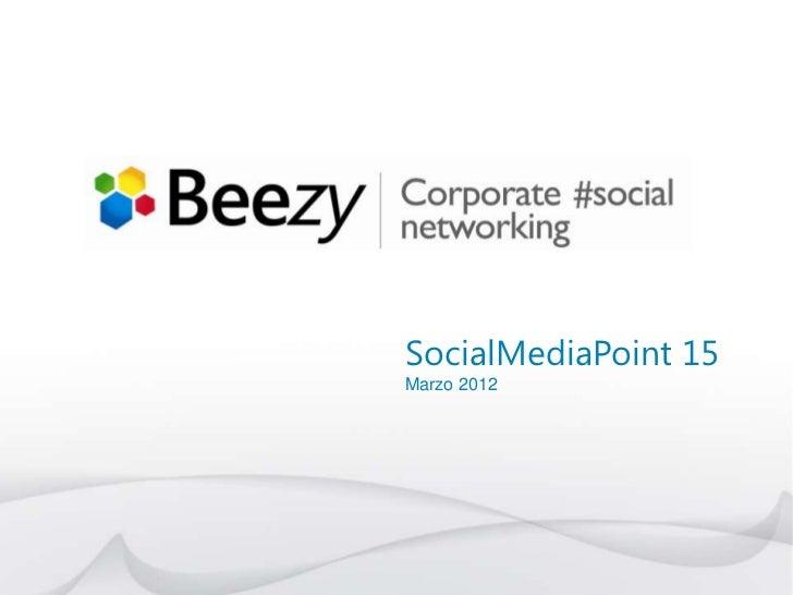 SocialMediaPoint 15Marzo 2012