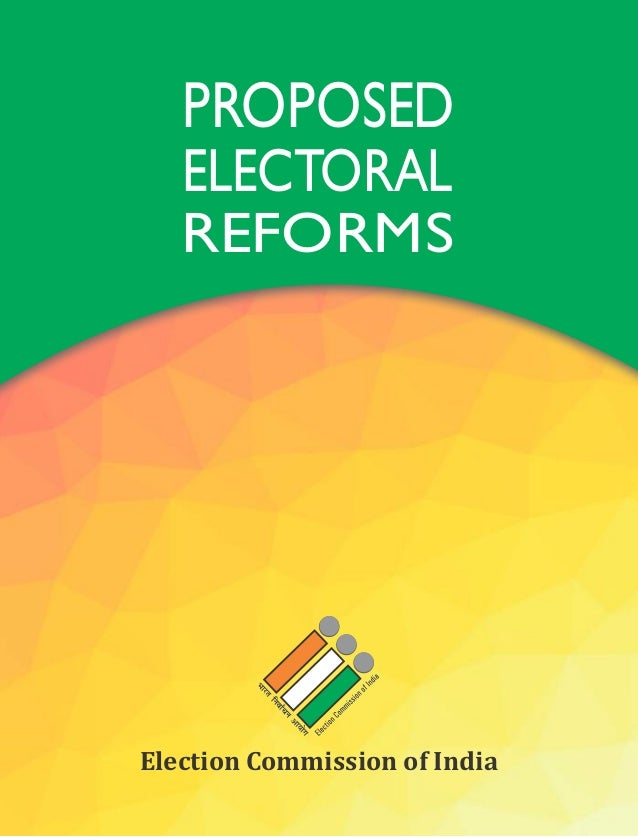 electoral reforms in india The electoral bonds may be purchased by a person, who is a citizen of india or incorporated or established in india a person being an individual can buy electoral bonds, either singly or jointly with other individuals.