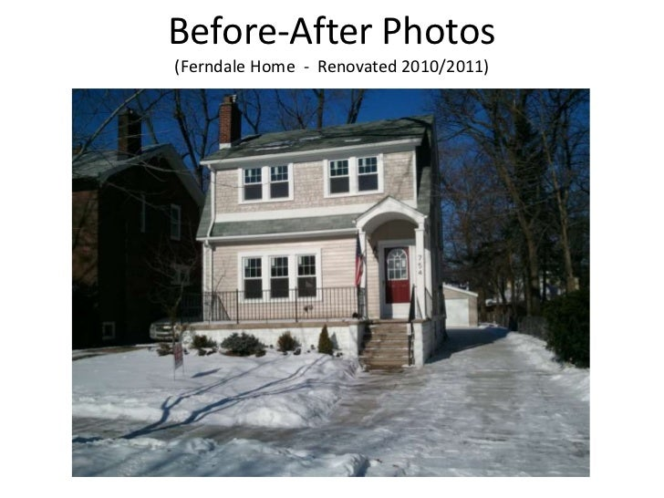 Before-After Photos(Ferndale Home  -  Renovated 2010/2011)<br />