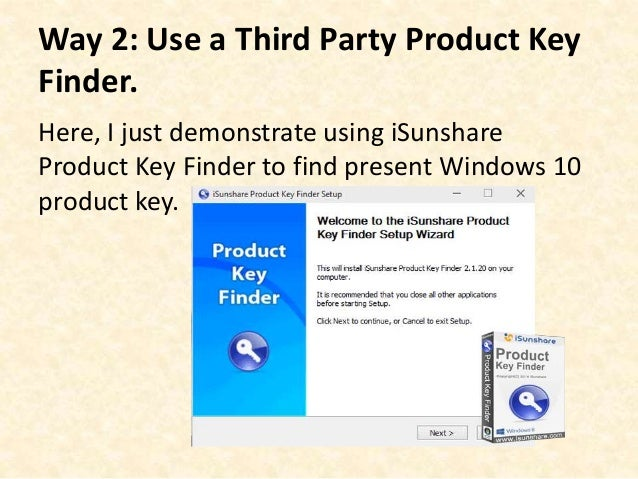 Before Reinstalling Windows 10 How Can i Find Its Product Key?