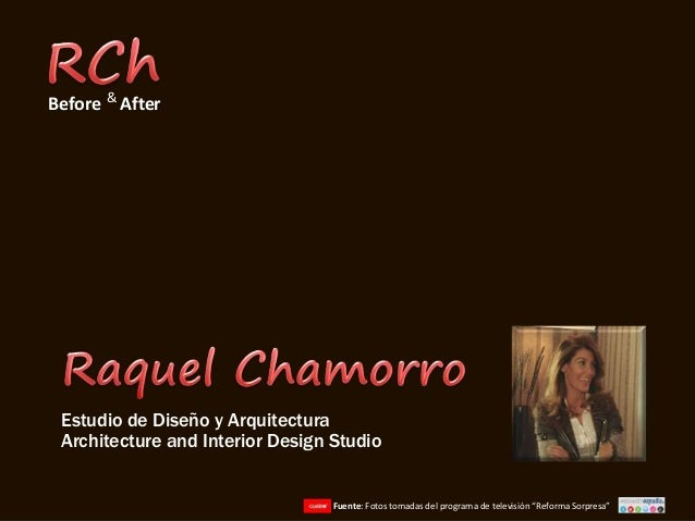 Before after terraza - Raquel chamorro ...