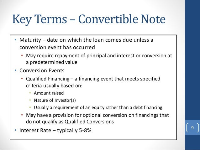 preference share and convertible note essay What should i look for in a preference share  mandatory conversion vs reset  preference shares   summary   convertible notes.