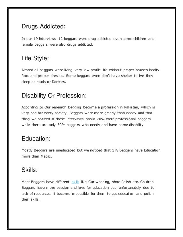 Essay on begging in pakistan best personal essay writing website for college