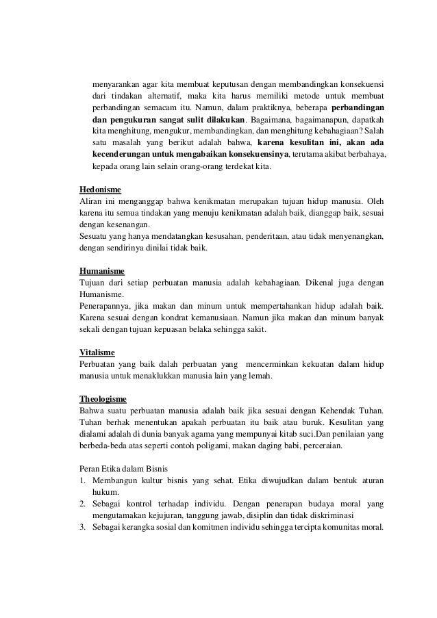 Be Gg Rachmad Hidayat Hapzi Ali Ethics And Business Philosophi