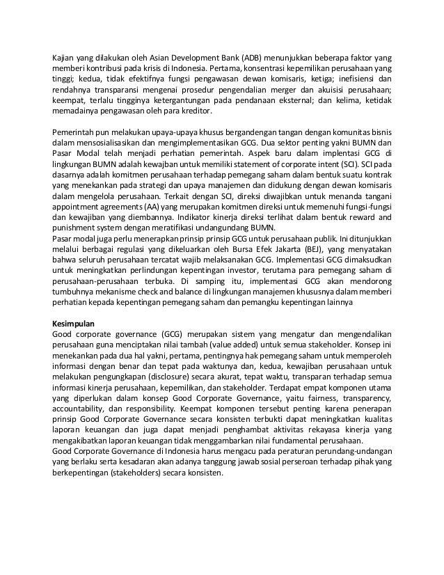 Begg, ririen eka dinyati, prof. dr. ir. hapzi ali, mm, cma, good corporate governance (gcg), universitas mercu buana Slide 2