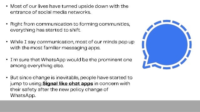 Begin developing a secure instant messaging app right now with white label signal clone Slide 3