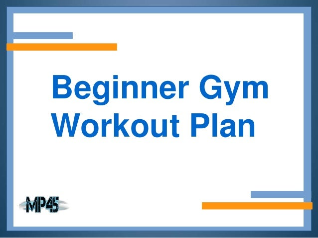 Gym Workout Chart