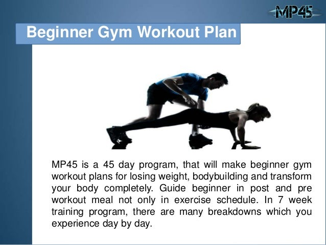Beginner Gym Workout Plan 2