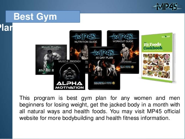 8 Best Gym Plan
