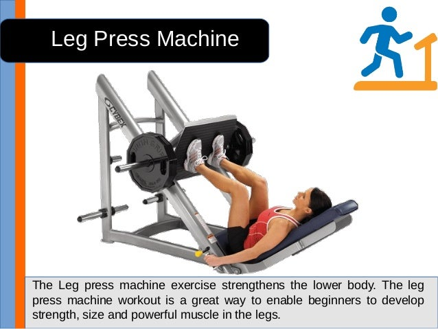 machine workout routine for beginners