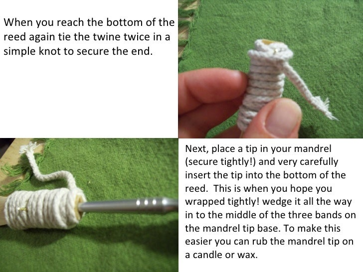 Beginner's Guide to Bassoon Reed Making