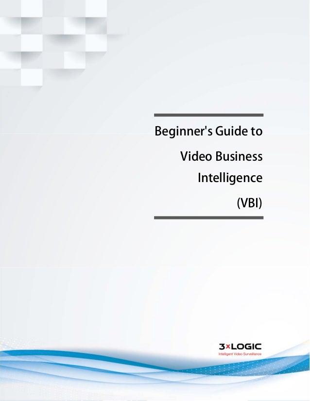 Beginner's Guide to Video Business Intelligence (VBI)