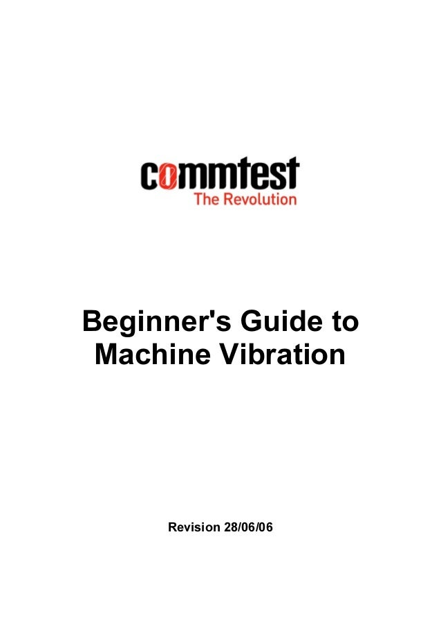 Beginners guide vibration