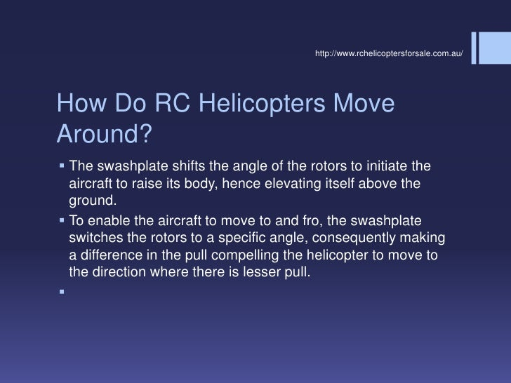Beginner's manual for flying rc helicopter