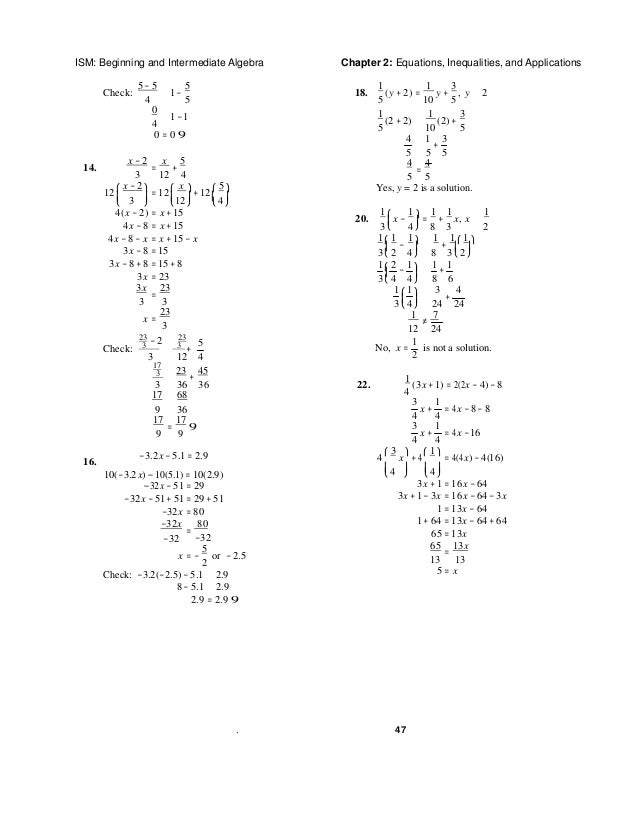 Beginning and intermediate algebra 5th edition tobey solutions manual 13 fandeluxe Choice Image