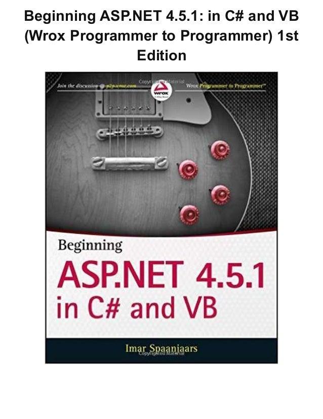 wrox asp net pdf free download