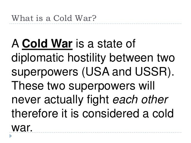 the beginning of the cold war America --the end of the world war ⅱ and the beginning of the cold war 1 'super state'post-wwⅱ politics 1945 the formation of un hegemony in capitalist.