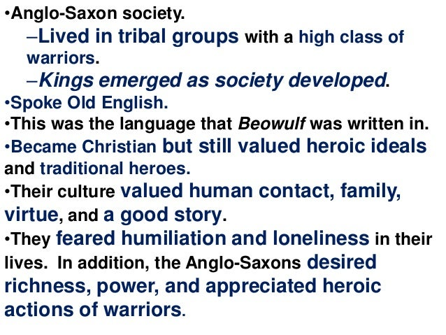 virtue and beowulf View essay - virtue and community in beowulf from eng 4 at university of phoenix 1 virtue and community in beowulf eng/493 june 1,2015 peggy walls 2 beowulf is the oldest surviving anglo-saxon epic.