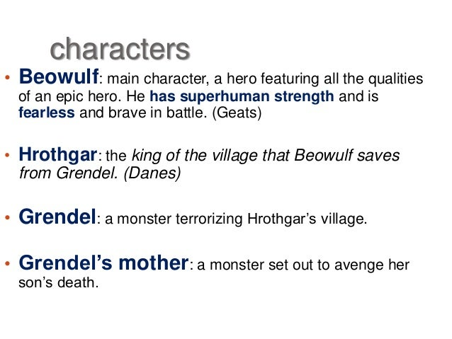 Exploring the christian elements of the character beowulf in the play beowulf