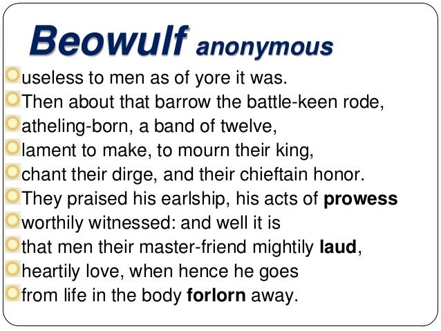 the mistreatment and isolation of grendel in the epic of beowulf Beowulf berea berea's berenices beresford beresford's bergen bergen's bergland  grendel grenier grenoble grenville gresham gresham's greta.