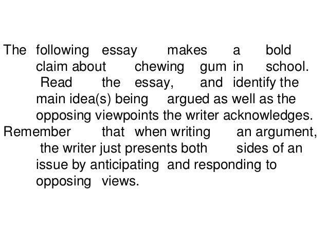 opposing viewpoints essay writing the argument essay essentials of argument and persuasion how to write an essay on cloning · opposing viewpoints