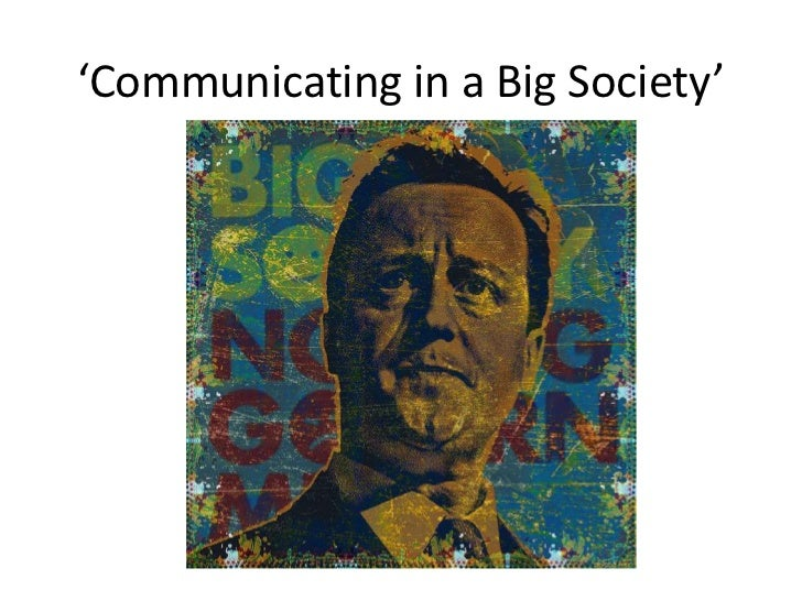 'Communicating in a Big Society'<br />